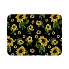 Sunflowers Pattern Double Sided Flano Blanket (mini)