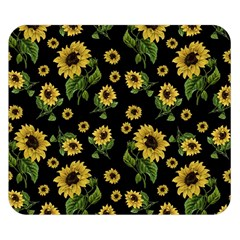 Sunflowers Pattern Double Sided Flano Blanket (small)