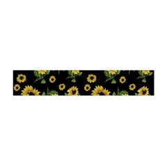 Sunflowers Pattern Flano Scarf (mini)