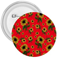 Sunflowers Pattern 3  Buttons