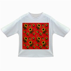 Sunflowers Pattern Infant/toddler T Shirts
