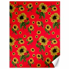 Sunflowers Pattern Canvas 36  X 48