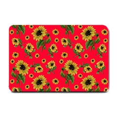 Sunflowers Pattern Small Doormat