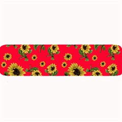 Sunflowers Pattern Large Bar Mats