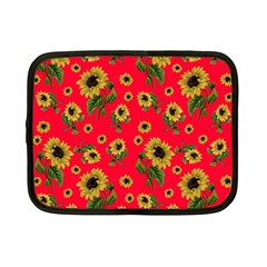 Sunflowers Pattern Netbook Case (small)