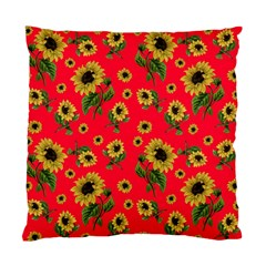 Sunflowers Pattern Standard Cushion Case (one Side)