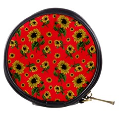 Sunflowers Pattern Mini Makeup Bags