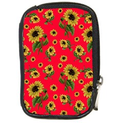 Sunflowers Pattern Compact Camera Cases