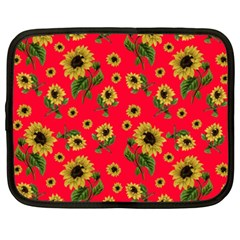 Sunflowers Pattern Netbook Case (xxl)