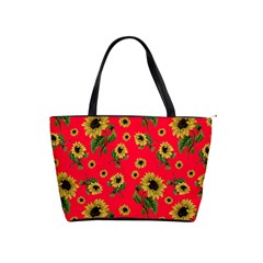 Sunflowers Pattern Shoulder Handbags