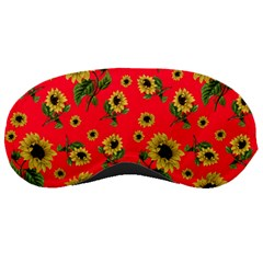 Sunflowers Pattern Sleeping Masks
