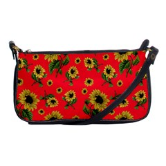 Sunflowers Pattern Shoulder Clutch Bags