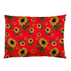 Sunflowers Pattern Pillow Case (two Sides)