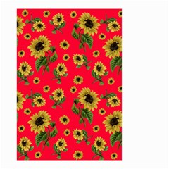 Sunflowers Pattern Small Garden Flag (two Sides)