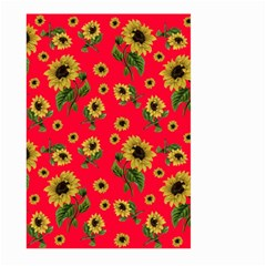 Sunflowers Pattern Large Garden Flag (two Sides)