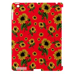 Sunflowers Pattern Apple Ipad 3/4 Hardshell Case (compatible With Smart Cover)