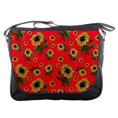 Sunflowers Pattern Messenger Bags