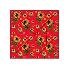 Sunflowers Pattern Acrylic Tangram Puzzle (4  X 4 )