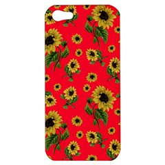 Sunflowers Pattern Apple Iphone 5 Hardshell Case