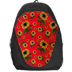 Sunflowers Pattern Backpack Bag
