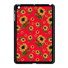 Sunflowers Pattern Apple Ipad Mini Case (black)