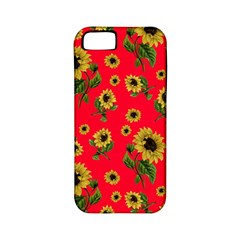 Sunflowers Pattern Apple Iphone 5 Classic Hardshell Case (pc+silicone)