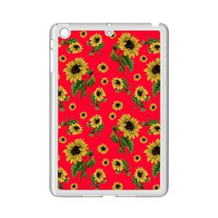 Sunflowers Pattern Ipad Mini 2 Enamel Coated Cases