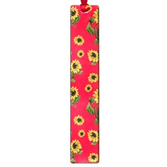 Sunflowers Pattern Large Book Marks