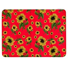 Sunflowers Pattern Samsung Galaxy Tab 7  P1000 Flip Case