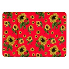 Sunflowers Pattern Samsung Galaxy Tab 8 9  P7300 Flip Case