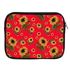 Sunflowers Pattern Apple Ipad 2/3/4 Zipper Cases