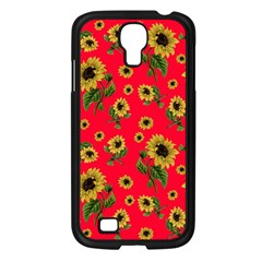 Sunflowers Pattern Samsung Galaxy S4 I9500/ I9505 Case (black)