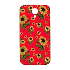Sunflowers Pattern Samsung Galaxy S4 I9500/i9505  Hardshell Back Case