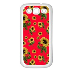 Sunflowers Pattern Samsung Galaxy S3 Back Case (white)