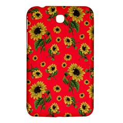 Sunflowers Pattern Samsung Galaxy Tab 3 (7 ) P3200 Hardshell Case