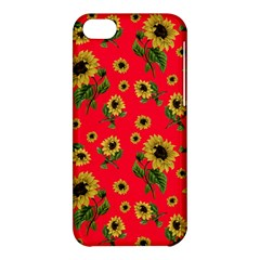Sunflowers Pattern Apple Iphone 5c Hardshell Case