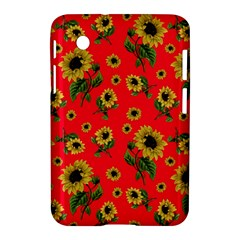 Sunflowers Pattern Samsung Galaxy Tab 2 (7 ) P3100 Hardshell Case