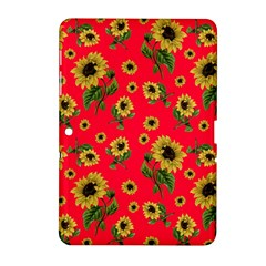 Sunflowers Pattern Samsung Galaxy Tab 2 (10 1 ) P5100 Hardshell Case