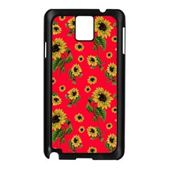 Sunflowers Pattern Samsung Galaxy Note 3 N9005 Case (black)
