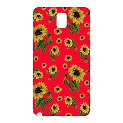 Sunflowers Pattern Samsung Galaxy Note 3 N9005 Hardshell Back Case