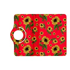 Sunflowers Pattern Kindle Fire Hd (2013) Flip 360 Case