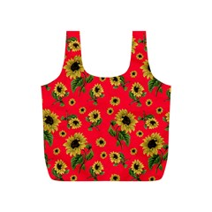 Sunflowers Pattern Full Print Recycle Bags (s)