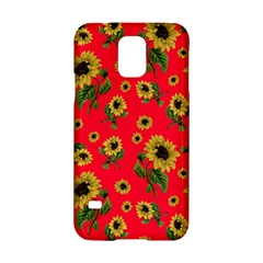 Sunflowers Pattern Samsung Galaxy S5 Hardshell Case