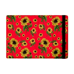 Sunflowers Pattern Ipad Mini 2 Flip Cases