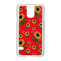 Sunflowers Pattern Samsung Galaxy S5 Case (white)