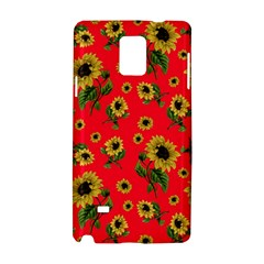 Sunflowers Pattern Samsung Galaxy Note 4 Hardshell Case