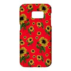 Sunflowers Pattern Samsung Galaxy S7 Hardshell Case