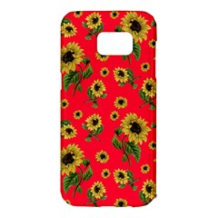 Sunflowers Pattern Samsung Galaxy S7 Edge Hardshell Case