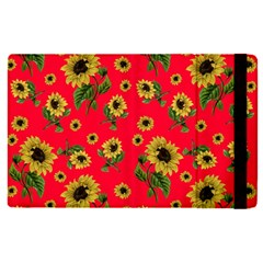 Sunflowers Pattern Apple Ipad Pro 9 7   Flip Case