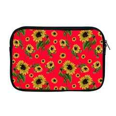 Sunflowers Pattern Apple Macbook Pro 17  Zipper Case